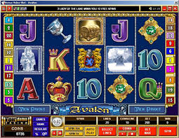 Win jackpot with Avalot slot