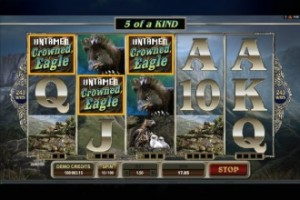 play untamed crowned eagle slot